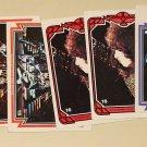 8 1978 Donruss Aucoin KISS cards Gene Simmons Peter Criss Paul Stanley Ace Frehley lot#4