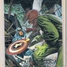 1992 Marvel Masterpieces Battle Spectra foil insert chase #5-D Captain America vs Red Skull NM/M