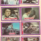8 different 1968 Topps Mod Squad TV show cards 7, 13, 19, 21, 22, 23, 35, 40, Lot#1