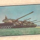1954 Bowman Power For Peace military card #50 T-43 M-48 M-47 M-41 tanks VG