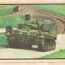 1954 Bowman Power For Peace military card #63 light tank vehicle G/VG