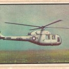 1954 Bowman Power For Peace military card #62 XH-39 Sikorski Helicopter G/VG