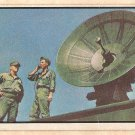1954 Bowman Power For Peace military card #58 radar dish Good - has light crease