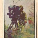 1954 Bowman Power For Peace military card #20 battlefront TV (television) VG