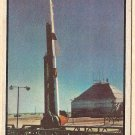 1954 Bowman Power For Peace military card #61 NIKE guided missile VG