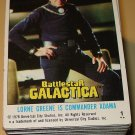 1978 Topps BattleStar Galactica TV show cards, near set, 4 cards missing, EX/NM