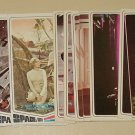 1976 Donruss Space: 1999 TV show cards, EX, Martin Landau, Barbara Bain
