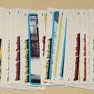 114 assorted 1979 Topps Star Trek Motion Picture cards, William Shatner Leonard Nimoy lot2