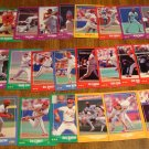 1988 Score St. Louis Cardinals baseball card team set, NM/M