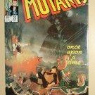 New Mutants #22 comic book - Marvel comics