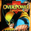 5 Packs of Marvel Overpower CCG card game booster pack 17 Cards - MINT never opened