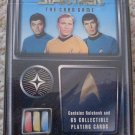 1996 Star Trek The Card Game starter deck, CCG, 65 cards, MINT never opened Kirk Spock
