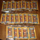 22 packs 1992 Young Indiana Jones cards, never opened, MINT, 10 cards per pack