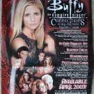 2003 Inkworks Buffy the Vampire Slayer Connections card promo ad sneak preview sheet, NM/M