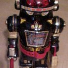 "Space Warrior battery operated toy robot 15"" tall 1985, NM in box"
