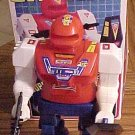 "Galaxy Super Mechanic Fighter Robot battery operated toy robot 9"" NM in box"