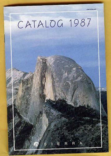 1987 Sierra catalog & order form, NM, games, Disney, computer programs, etc.
