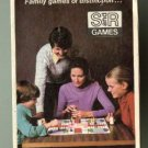 1980's (?) S & R (Selchow & Righter) games catalog, VG, Scrabble, Backgammon, many more!