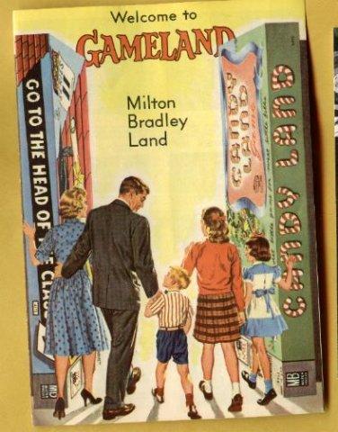 1960's / 1970's Milton Bradley Gameland games catalog, NM, CandyLand, Password, Stratego, MORE!