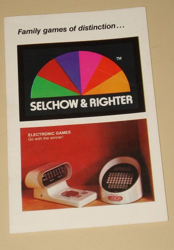 1980's S & R (Selchow & Righter) games catalog, NM, Scrabble, Lexor, Babes in Toyland, more!