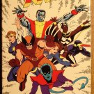 X-Men VHS animated video tape movie film cartoon, 1988, Narrated by Stan lee