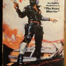Mad Max VHS video tape movie film, Mel Gibson, science fiction, road warrior