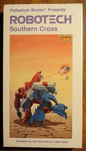 Robotech Southern Cross Vol  6 VHS animated video tape movie film