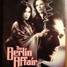 The Berlin Affair VHS video tape movie film, Mio Takaki, Kevin McNally, Gudrun Landgrebe