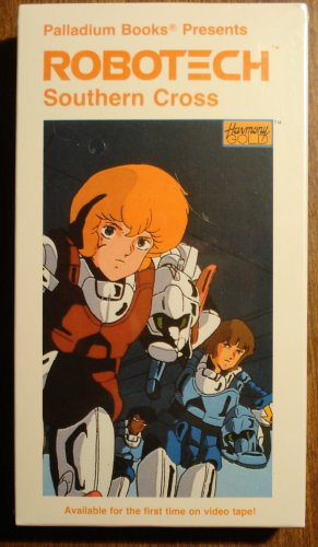 Robotech Southern Cross Vol  7 VHS animated video tape movie film