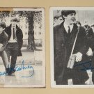 1964 Topps The Beatles trading non-sports cards #21 & 142 Paul McCartney John Lennon Ringo George