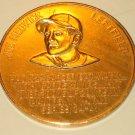 1966 St. Louis Cardinals baseball Joe Medwick aluminum coin token - Busch Stadium Immortals