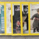 1972 National Geographic Magazine - full entire complete year January  - December - 12 issues