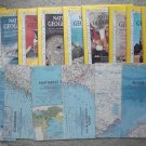 1963 National Geographic Magazine - full entire complete year January  - December - 12 issues