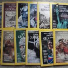 1986 National Geographic Magazine - full entire complete year January  - December - 12 issues