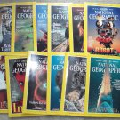 1997 National Geographic Magazine - full entire complete year January  - December - 12 issues