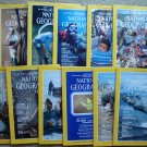 1984 National Geographic Magazine - full entire complete year January  - December - 12 issues