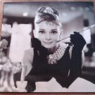 Audrey Hepburn canvas wall art poster print picture - 2' x 2' wood framed - very NICE!