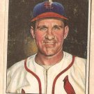 1950 Bowman baseball card #35 Enos Slaughter fair/good St. Louis Cardinals