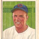 1950 Bowman baseball card #79 (C) Johnny Vander Meer good Chicago Cubs