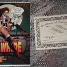 Topps Comics Lady Rawhide #1 Signed & #'d 136/2500 w/COA Don McGregor, Mike Mayhew, Jimmy Palmiotti
