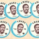 1976 Crane Potato Chips football disc card James Harris Los Angeles Rams NM/M OC 7 cards LOT3