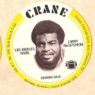 1976 Crane Potato Chips football disc card Larry McCutcheon Los Angeles Rams NM/M 3 cards