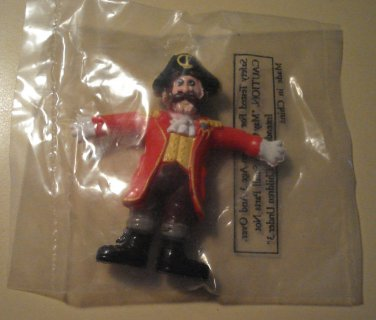 Pirate figure (unknown year) McDonalds Happy Meal toy, MIP never opened