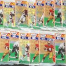 18 packs 1990 Score Footballcard wax packs, Series 2, never opened, MINT, 16 cards each