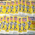 47 packs 1990 Pro Set Football card wax packs, never opened, MINT, 14 cards each