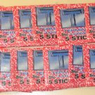 21 packs Topps Terminator 2 T2 non-sports card sticker wax packs, never opened, 5 card packs