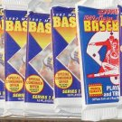 9 packs 1992 Score Baseball card wax packs, never opened, MINT, 16 cards each