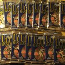 17 packs 1991 Fleer Ultra Baseball card (wax) foil packs, never opened, 14 cards per pack