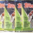 4 packs 2002-2003 Topps Hockey card packs, unopened, 2002/03, 10 cards/pack