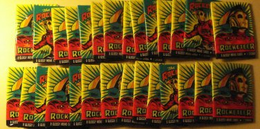 29 packs Topps The Rocketeer Movie non-sports cards packs, unopened, 8 cards/pack